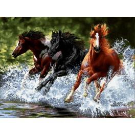 فرار اسبها